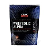 GNC AMP Wheybolic Alpha Whey Protein Powder - Chocolate Fudge, 9 Servings, Contains 40g Protein and 15g BCAA Per Serving