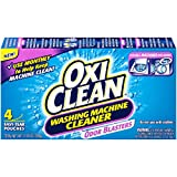 PACK OF 6 - OxiClean Washing Machine Cleaner with Odor Blasters, 4 count, 11.28 oz
