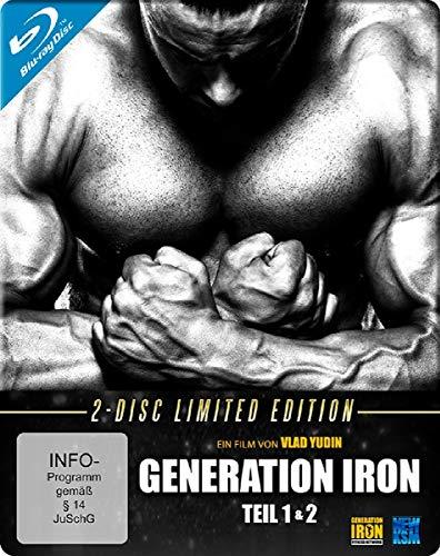Produktbild von Generation Iron 1+2 - Limited Edition im FuturePak [Blu-ray]