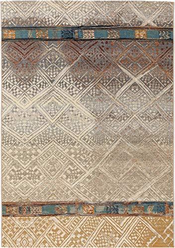 benuta PLUS In- & Outdoor-Teppich Artis Beige 120x180 cm - Outdoor-Teppich für Balkon & Garten