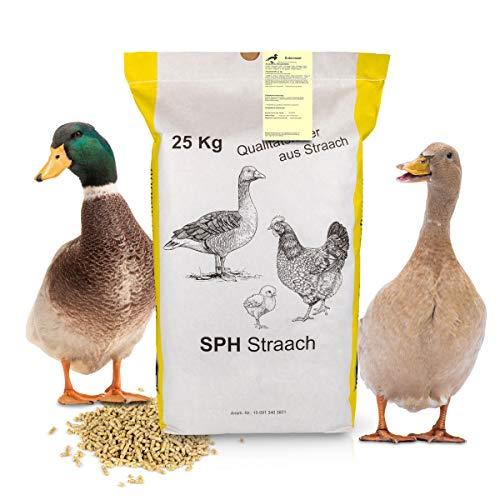 SPH Entenmastfutter für Mastgeflügel 25Kg Sack Geflügelfutter - universelles Futter aus regionaler Produktion