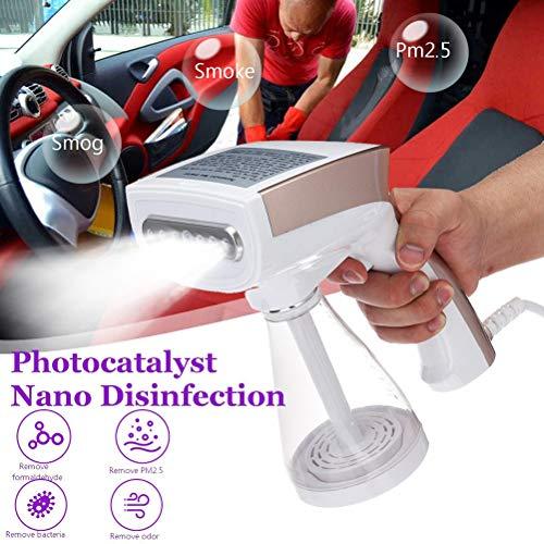 WWJJLL Nano Desinfizieren Dampf Spray, 1200W 250 ml tragbare Hand Bügeleisen Sprayer, Pumpendruck Schnell Bügeln und Falten entfernen Temperatur ist 130-170 ℃