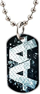 Asking Alexandria DIY Custom Photo Oval Dog Tag Dimensions: 1.2 x 2 X 0.1 inches with 30