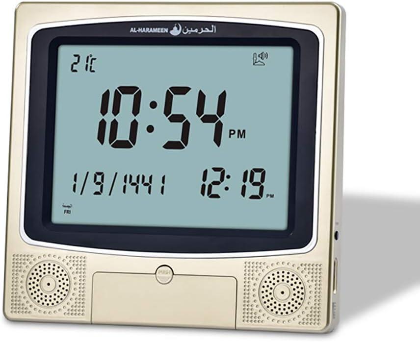 人気 おすすめ ROYAL WIND Ramadan Gift Azan Prayer 往復送料無料 Athan Clock Automatic