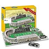 JXS Vasco Da Gama Stadium Model, Modelo arquitectónico Gymnasium 3D Puzzle, fútbol Modelo de Juguete, 168 Rompecabezas