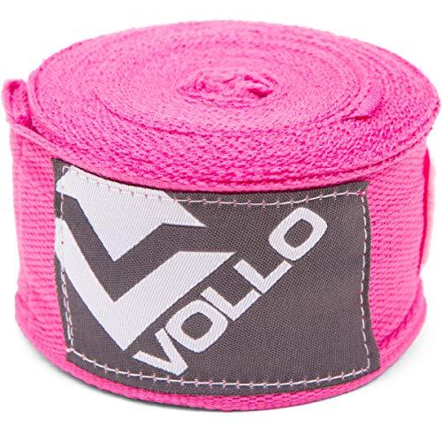 Bandagem Elastica, Vollo Sports, Rosa
