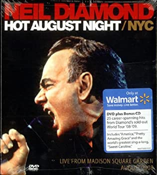 Hot August Night/NYC  Live From Madison Square Garden August 2008  DVD/CD