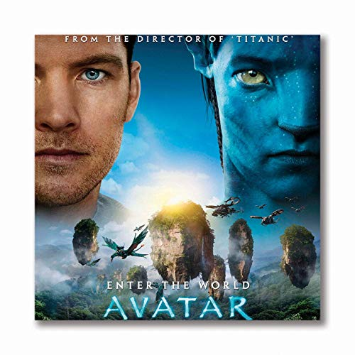 Tamatina Wall Poster | Hollywood | Avatar | Sci Fi | Movies | Poster for Boys Room | Laminated | Hostel | Tearproof | Size - 45 X 45 cms.a4770
