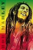 Bob Marley - Farben Poster Drucken (60,96 x 91,44 cm)