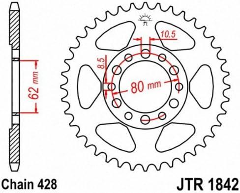 JT SPROCKET JTR1842.55 Steel Rear Sprocket 55T