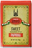 Pride of Szeged Sweet Paprika Seasoning Spice, 4 Ounces