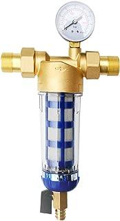 joyMerit Well Water Tap Water Sediment Trapper Water Filter System 1/2