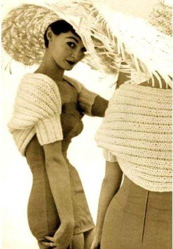 Hamaca Shrug - Simple Vintage Knitting Pattern (English Edition)