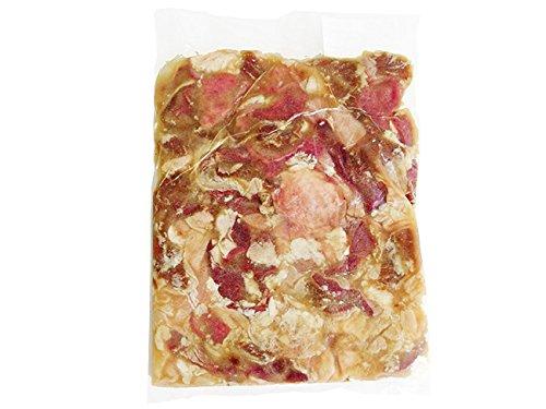贅沢ホルモンセット500g塩味(豪華ブタほるもん) (舌・心臓・ハラミ・大腸・胃)業務用(国産豚)塩ダレと昆布エキスミックスホルモン