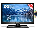 Cello 19' Traveller HD LED 12v Volt TV with Satellite Freeview and Built in DVD