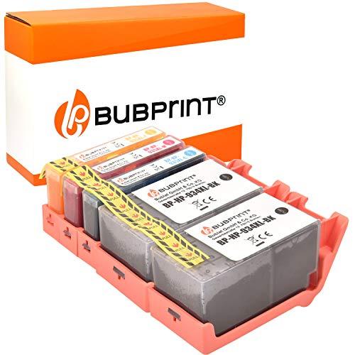 5 Bubprint Druckerpatronen kompatibel für HP 934XL 935XL für OfficeJet Pro 6200 6230 6235 6239 6800 6812 6815 6820 6822 6825 6830 6835 Schwarz Cyan Magenta Gelb Multipack