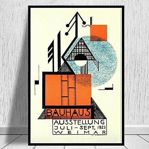 Bauhaus 1923 Weimer carteles de exposición e impresiones cu
