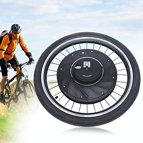 Kit de conversión para rueda delantera de 20/24/26 pulgadas, 36 V 240 W, kit de conversión para bicicleta eléctrica, kit de conversión para bicicleta delantera (24 pulgadas)