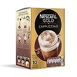 NESCAFÉ Café Cappuccino | Caja de sobres de café| Paquete de 10x14g de Café
