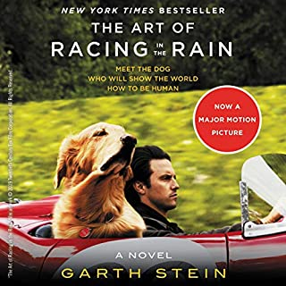 The Art of Racing in the Rain audiobook cover art