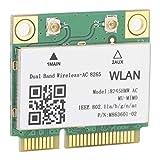 Mini PCI-E, 3 Veces la Velocidad de la Tarjeta de Red inalámbrica 802.11N 2.4G / 5Ghz Compatible con computadoras portátiles con Interfaz Mini PCI-E para computadora portátil