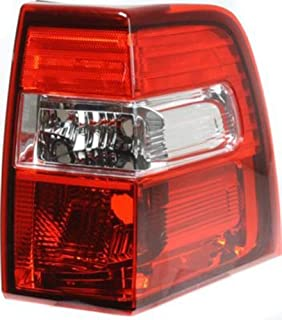 Crash Parts Plus Passenger Right Side Tail Light Tail Lamp for 07-14 Ford Expedition