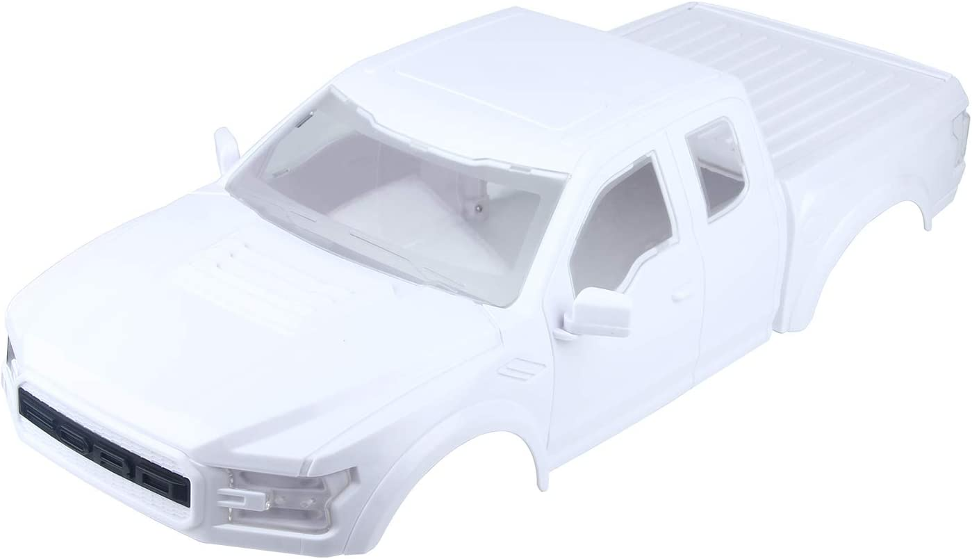 LCX Racing RC Car Accessories White Latest item OFFicial store Hard Raptor Bod ABS Body