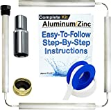 About Fluid Aluminum Zinc Replacement Anode Rods for Water Heaters (Aluminum ZINC Complete KIT)