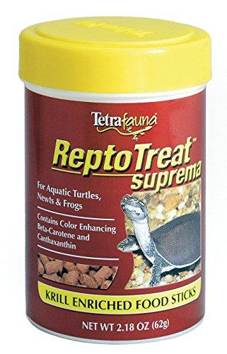 TetraFauna ReptoTreat Suprema 2.18 Ounces, Food Supplement for Aquatic Turtles, Newts and Frogs, 1-Pack