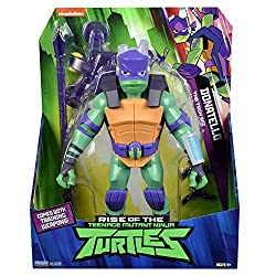 Totally new Giant Turtles based on the new 2018 Rise Of The Teenage Mutant Ninja Turtles TV show! Giant Donatello stands 10.75 Inch tall For the first time, these Giant Action figures are designed with 13 points of articulation, ready for any battle ...