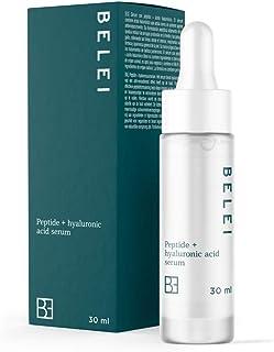 Amazon Brand - Belei - Peptide + Hyaluronzuur Serum, 96.6% natuurlijke ingrediënten, veganistisch, 30 ml