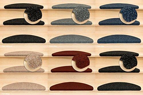 Kettelservice-Metzker Stufenmatten Ramon Halbrund Anthrazit 15 Stück