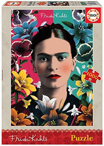 Frida Kahlo Puzzle, 1000 Piezas, multicolor (18493)