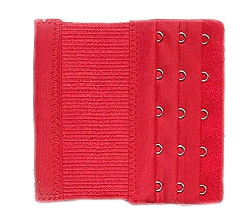 1 verlenging BH rood 5 haken uittrekbaar 10/13 cm