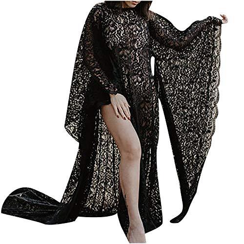 Your New Look - Accesorios de fotografía sexy para mujer, encaje, color negro