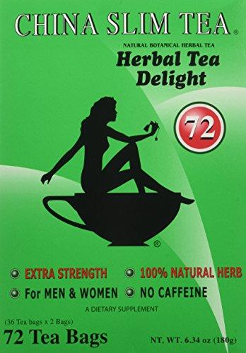 China Slim Tea Extra Strength For Men and Women 72 Tea Bags