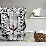 jzyjhc , Badezimmervorhang , Wasserdichtes Polyesterbad Animal Cute Cat Duschvorhang Für Badezimmervorhang 90X180Cm