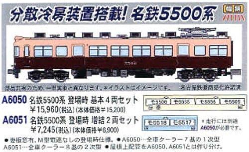 online al mejor precio Micro As N calibre hotel.Meitetsu hotel.Meitetsu hotel.Meitetsu 5500 sistema aparecioe en el 4-car set modelo A6050 tren de ferrocarril baesica  ventas en linea