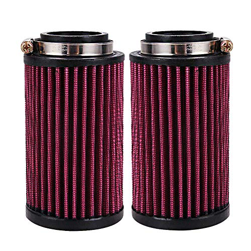 HuthBrother New 2x 26mm Air Pod Filters Filter Pair Compatible With Yamaha Banshee YFZ350