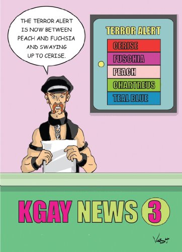Gay Terror Alert Birthday Greeting Card