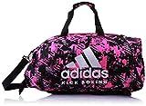 adidas - Bolsa de Kickboxing 2 en 1 para Mujer, Talla M, Color Rosa y Plateado