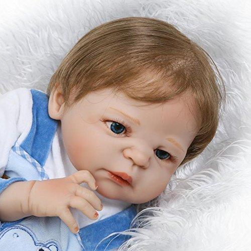 Bebê Reborn Menino Arthur Corpo Inteiro Silicone Pode Dar Banho