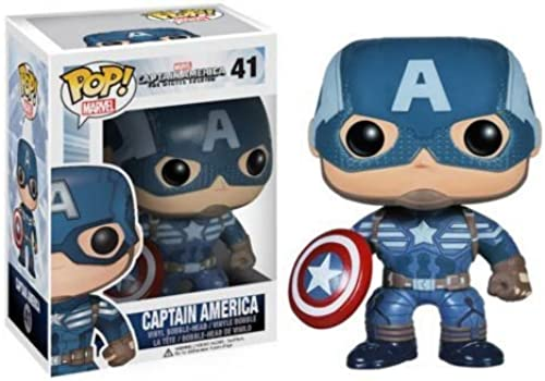 Captain America The Winter Soldier Movie 2 CAPTAIN AMERICA Pop  Vinylfigur by POP
