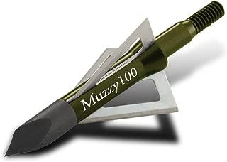 Muzzy 225 Bowhunting 100 Grain, 3 Blade Broadhead, 1-3/16