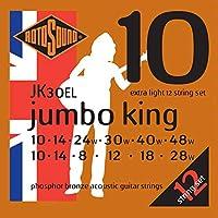 【12セット】ROTOSOUND JK30SL アコースティックギター弦(12弦) (ロトサウンド)