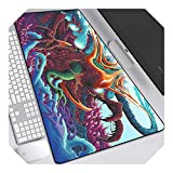 CS GO Gamer Mouse pad Non-Slip Keyboard Mouse pad CSGO Gamer Mouse pad PC Computer Keyboard Mouse Gaming Laptop Mouse pad-hzw-006-80x30cm