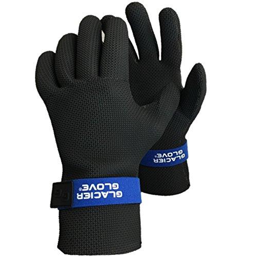 Glacier Glove Men's Kenai Waterproof-M, Black, Medium