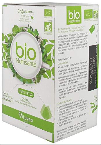 Nutrisanté - Infusione Bio Pure Detox, 20 bustine
