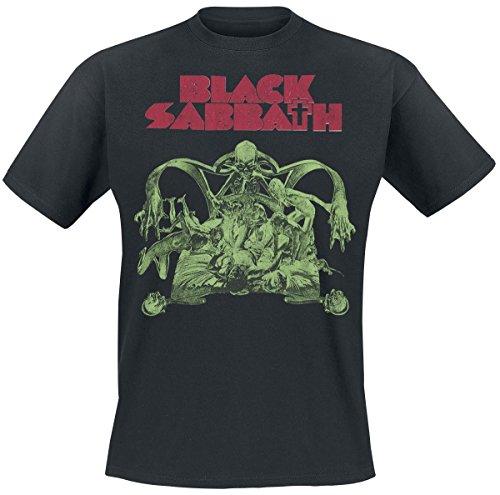 Black Sabbath - T-Shirt Homme, Noir, XL