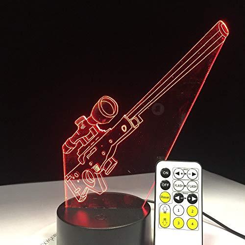 Illusion Schreibtisch Nachtlicht Farbe Touch Light Kinder Kinder Familie Urlaub Geschenk Home Office Dekoration Kabel